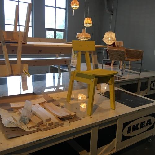 Piet hein eek ontwerpt voor ikea for Design stuhl freischwinger piet 30